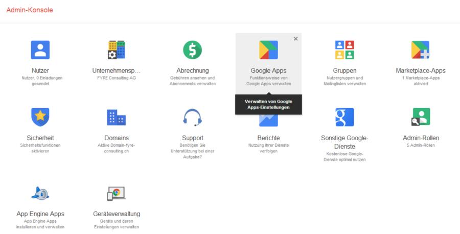 Google deaktiviert die klassische Admin Konsole bei Google Apps