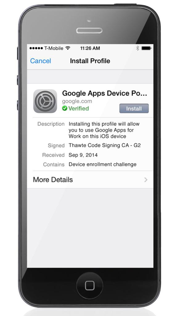 iOS Sync: Google bietet neue Funktionen für die iPhone-Geräteverwaltung