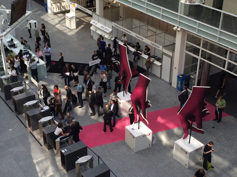 Eingangshalle Messe Zürich